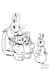 Peter Rabbit Coloring Pages Book Medium Size Of With Wallpaper