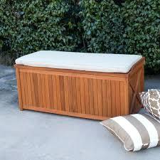 outdoor storage bench with cushion best deck box ideas on pallet chest outdoor inside outdoor storage