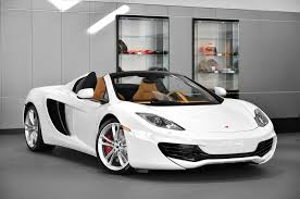 mclaren mp4 12c white 2013. 2013 mclaren 12c spider the white mclaren mp4 12c
