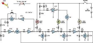 simple traffic light circuit diagram simple image interactive toy traffic lights circuit diagram world on simple traffic light circuit diagram