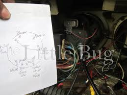 little bug a girls s adventure in restoring her vw beetle some tips for removing a 1970 vw beetle speedometer cluster
