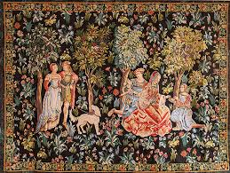 large tapestry wall hanging h68 x w94
