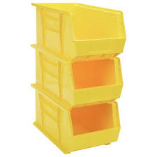 12 locations across usa, canada and mexico for fast. Quantum Heavy Duty Storage Bins 3 Pk Yellow Model Qus840yl