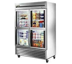 gorgeous glass door refrigerator