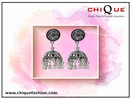 every woman owns at least one pair of hoop earrings and when it is a pair of stylish imitation silver earrings then no doubt it can plement any of the