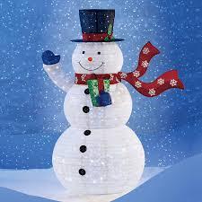 Snowman Led Acrylic Outdoor Christmas Decorations Buy - apartmanidolores.com