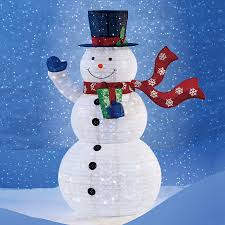 perfect lighted snowman decoration gf52 outdoor decorations