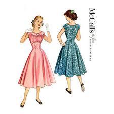 1950s Dress Patterns Stunning Best Vintage Dress Patterns 48s Products On Wanelo