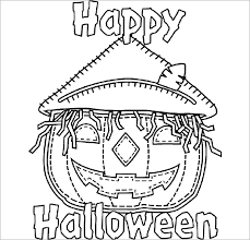 Print these halloween pictures to color before your next playdate or your class party. 20 Halloween Coloring Pages Pdf Png Free Premium Templates