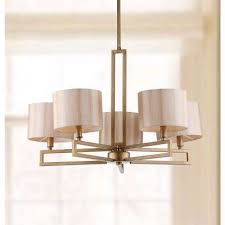 catena 5 light antique gold chandelier