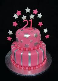 21st Birthday Cake For Girl With Name Cakes Images Ideas Yummy Taste