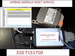 all mazda mitsubishi airbag module puter sdm rcm sas reset service
