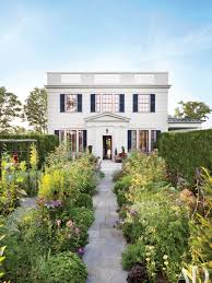 Light Blue Houses With White Trim White Exterior Paint Color Ideas Architectural Digest