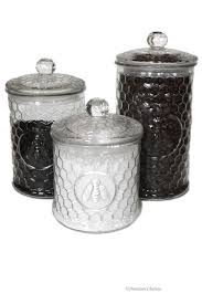 Decorative Glass Storage Jars Set 100 Large Glass Bee Kitchen Canisters Storage Jars SI100ND100 51