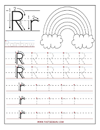 Awesome Collection Of Letter R Worksheets For Resume Austsecure Com