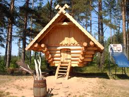 scotland log cabin home europe building plans 48283