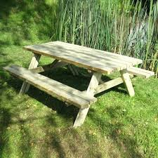 large picnic table large picnic bench wide large round picnic table cover