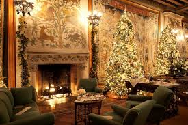Small Picture Designer christmas decorated homes House design ideas