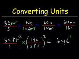 Create A Conversion Chart For Length And Distance Converting Units With Conversion Factors Youtube