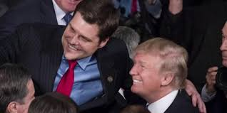 Is Matt Gaetz expecting a loyal Trump to stick up for him?