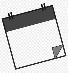 office desk clipart black and white. Plain Clipart Office Calendar Desk Line Clip Art  Blank Clipart Black And White For I