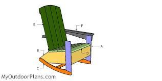 Adirondack rocking chair plans Free Printable Building Rocking Adirondack Chair Nucksicemancom Adirondack Rocking Chair Plans Myoutdoorplans Free Woodworking