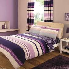 contemporary modern purple quilt cover