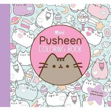 The most common kids coloring books material is polyester. Mini Pusheen Coloring Book Pusheen Book By Claire Belton Paperback Target