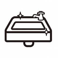 洗面台シルエット イラストの無料ダウンロードサイトシルエットac