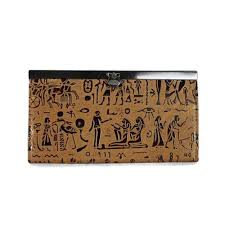 Coach Egyptian Wall Painting Large Brown Wallets EDX