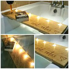 teak bathtub large size of hole for wine glass holder laptop desk tub caddy wood tray