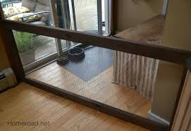 indoor dog fence i did this using a screen door on its side in size 1600