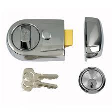 front door lockYale Front Door Lock  Y3 Contemporary Style Nightlatch  Polished