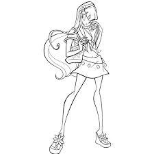 Disegno Di Winx Stella Da Colorare Per Bambini