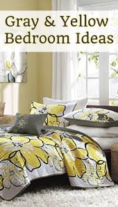 gray and yellow bedroom ideas bedding decor pictures diy ideaore