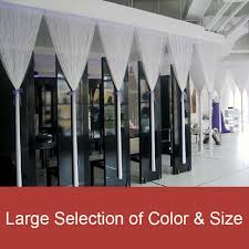 white string curtains fringe curtain panel for wedding and event decoration 36 x78