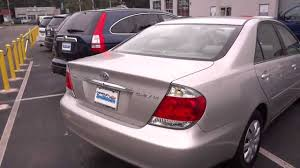 2005 Toyota Camry LE 4 Cyl Walkaround & Overview - YouTube