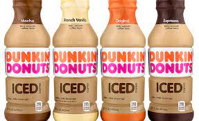 The same rich, smooth coffee taste you know and love from dunkin'. Dunkin Donuts Coca Cola Create Ready To Drink Iced Coffee Beverages 2017 02 16 Refrigerated Frozen Food