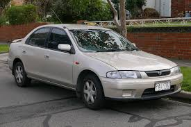 File:1998 Mazda 323 (BA Series 3) Protegé Shades 1.8 sedan (2015 ...