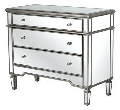 glass chest of drawers worlds away 3 drawer silver mirrored chest mirrored chest of drawers ikea