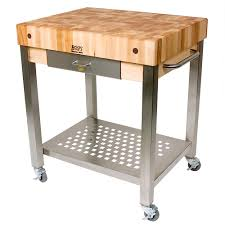 Chopping Table Kitchen Boos Technica Kitchen Trolley With Chopping Board Peters Of