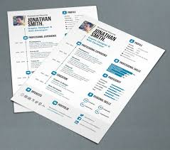 You do not forget to check the version One: Simple Resume. A4 and US Letter