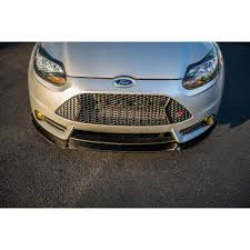 Focus St Bolt Pattern Mesmerizing 4848 Ford Focus ST Carbon Fiber Front Splitter Cal Pony Cars