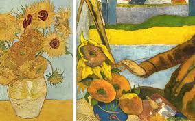 vincent van gogh painting sunflowers paul gauguin defendbigbirdcom