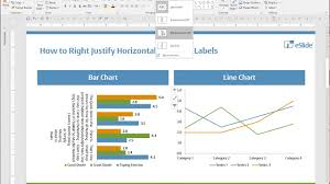 Ppt Design Tip How To Right Justify Horizontal Bar Chart Labels