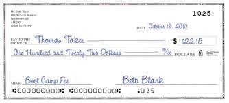 Cheque Writing Money Mart