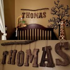 diy baby name wall decor baby name letters ideas in nursery on nursery name letters decor