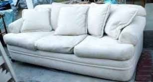 shabby chic off white sofa couch w