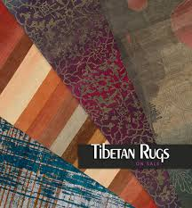 modern and contemporary tibetan rug designs on
