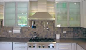 Glass Front Kitchen Cabinets How To Put Glass In Cabinet Doors Frosted Glass Kitchen Cabinets